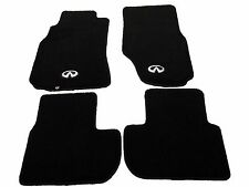 NRG Carpet Floor Mats Set Front & Rear Fits 03-07 Infiniti G35 Coupe FMR-600