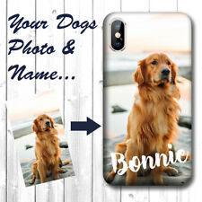Custom Phone Case for iPhone XR - Add Your Own Personalized Pet Dog Photo & Name