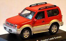 Toyota Land Cruiser Prado j9 1996–2002 SUV 1:72 rojo Red