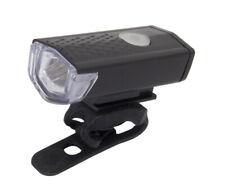 USB LED Fahrrad Frontlicht mit Akku USB Lade Funktion Lampe vorne Ultra Hell neu