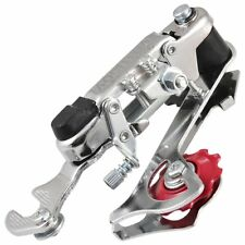 Racing Bicycle Part Silver Tone Metal 3-7 Speed Rear Derailleur A9A7 B5I3 W E8R4