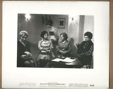 """Girl With 4 Women Scene """"What Do You Say To A Naked Lady?"""" Vintage Movie Still"""