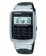 Casio Men's Core Silver Resin Quartz Watch DIGITAL CA56