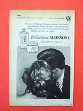 D217 - Advertising Pubblicità - 1953 - BRILLANTINA ATKINSONS LIQUIDA O SOLIDA