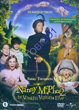 NANNY MCPHEE 2 - DE VONKEN VLIEGEN ERAF - DVD - SEALED IN KARTON SLEE