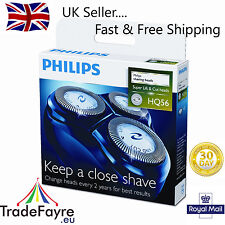 PHILIPS GENUINE HQ56 HQ55 HQ4 HQ3 SHAVER REPLACEMENT BLADES FOILS HQ 56 HQ 55