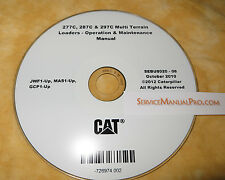 SEBU8020 CAT Caterpillar 277C 287C 297C Loader Operation Maintenance Manual CD .