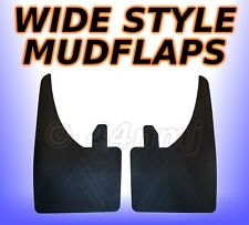 2 x WIDE Large Mudflaps Mud Flaps Guards Pair Fits Front or Rear  9inch Wide