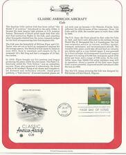 # 3142c CLASSIC AMERICAN AIRCRAFT-CUB 1997 First Day Cover