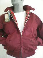 Classic Harrington jacket Bomber 1970's Coat, Black, Beige, Burgundy, Green,Navy