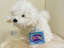 Bichon Frise full size 7.5in Webkinz puppy dog with sealed unused code HM668