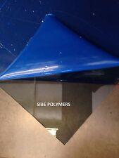 "Grey Tinted Clear Smoked Acrylic Plexiglass 1/8"" Thick 6"" x 13.5"""