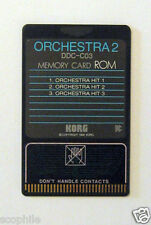 Korg ROM Memory Card Orchestra 2, DDC-C03, for DDD-1 & DDD-5 Drum Machines