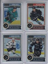 14/15 OPC Platinum San Jose Sharks Joe Pavelski White Ice card #91 Ltd #9/199