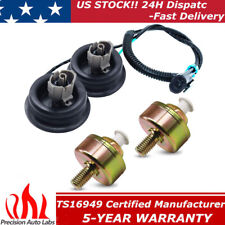 2 Knock Sensor with Harness Pair Kit for Chevy 1500 GMC Sierra 213-3521 12589867