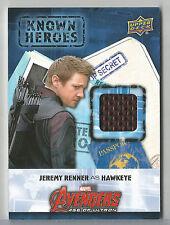 2016 Marvel Civil War Jeremy Renner Hawkeye Known Heroes Costume Wardrobe #KH-HW