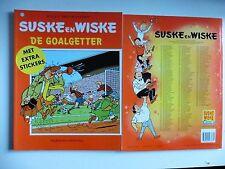 Speciale Suske en Wiske De Goalgetter met Extra stickers