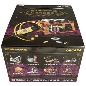 Rare 2009 ORCARA Art of Red Wine Culture Full 8 pcs Suitable for Re-Ment size