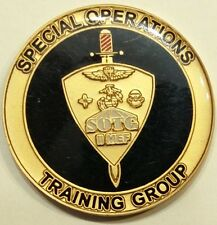 Special Operations Training Gp SOTG MARSOC II MEF Marine Challenge Coin