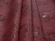 New! Tessuto Ecopelle Tappezzeria Komodo Rosso mt. 0.50x1.40-Leather Fabric