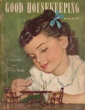 1947 Good Housekeeping March - Dollhouse furniture; Somerset Maugham; Vincent's
