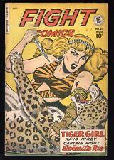 Fight Comics #63 Baker/Kamen Fiction House Tiger Girl - Sharp Copy