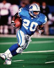 Barry Sanders SILVER STREAK Detroit Lions 1998 Premium NFL Classic POSTER Print