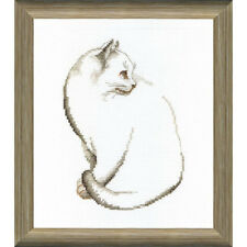 Cross Stitch Kit Grey cat BT-095