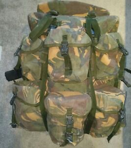 GENUINE British Army Issue UKSF SAS Dpm Woodland Air Support Bergen rucksack