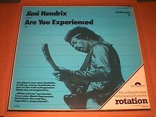 """Jimi Hendrix""""   Are You Experienced?"""" Rotation reissue German  w/ unique cover"""