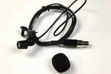 Shure Cvl Centraverse Lavalier Condenser Microphone For Parts or Repair #R3874