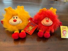 Rainbow Brite 1983 Happy Talk Sprites Taco Bell Romeo & Spark W Tags! Lot Of 2