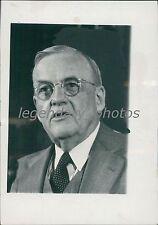 1957 Portrait of Sec of State John Foster Dulles Original News Service Photo