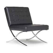 Studio Designs Modern Leather Atrium Living Room Chair Furniture (Open Box)