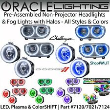 ORACLE Non-Projector Halo Headlights & Fog Lights for 08-14 Dodge Challenger