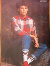 BIG COUNTRY Stuart in a checked shirt Centerfold magazine POSTER  17x11 inches
