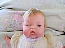 1960's Ideal Tiny Thumbelina Doll Original Dress, & Slip. Clean & WORKS!