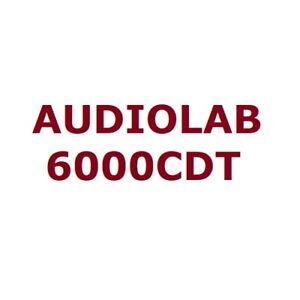 Audiolab 6000CDT Premium Audiophile CD Transport Optical Digital Output