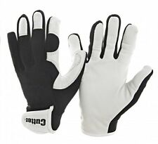 Cutter Garden Gloves Premium Goatskin Palm with Velcro Wrist Closure Size Large