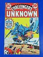 CHALLENGERS OF THE UNKNOWN #80 COMIC BOOK Marvel Bronze Age 1973 ~ VF