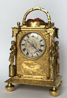 Antique Miniature English Carriage Clock With Duplex Escapement London Made