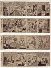 Dixie Dugan by McEvoy & Striebel - 26 daily comic strips - Complete May 1953