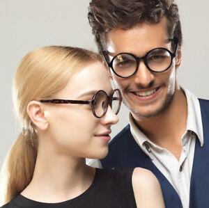 50mm Vintage Round tr90 Eyeglass Frame clear Glasses Full Rim Spectacles 25