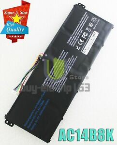 NEW AC14B8K 48WH Battery For Acer Aspire V3-371 V3-111 ES1-511 E5-771G P276
