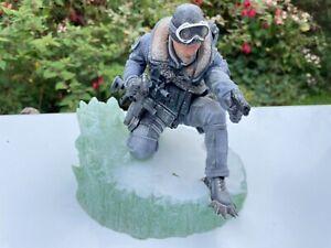 Call of Duty Modern Warfare 2 Captain Soap Mactavish figurine Statue Collectors