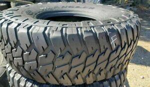 4 Goodyear Wrangler MTR 37x12.50R16.5 Military Humvee Mud Truck Tires 70% tread
