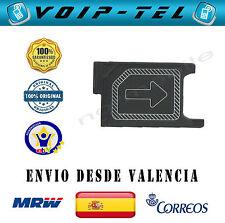 BANDEJA PORTA SIM PLASTICO SOPORTE TARJETA XPERIA  Z3 D6603 / Z3 Compact D5803