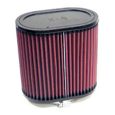K&N Oval Straight Universal Air Filter 70mm Neck ID / Rubber End Cap - RU-1500