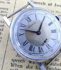 POBEDA ZiM ROMAN SILVER GREY Vintage 1970s USSR Soviet Mechanical Wrist Watch