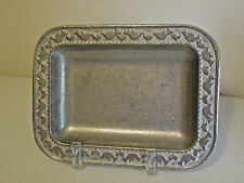 Wilton Armetale Doves Hearts Tray Retired 7.75""